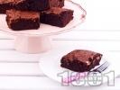 Рецепта Какаов сладкиш с орехи